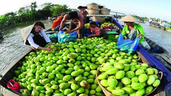 Circuit visite marché flottant Cai Be