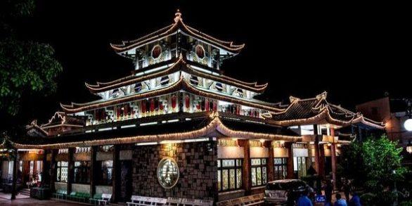 pagodes au sud au vietnam