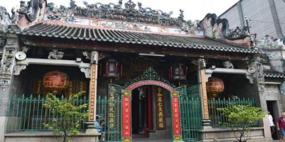 Temple Ba Thien Hau à Saigon