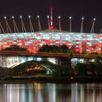 Stadion Narodowy został wybudowany na Mistrzostwa Europy w piłce nożnej w 2012 roku. Ma 58.000 miejsc.