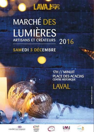LE MARCHÉ DES LUMIÈRES / 3 décembre
