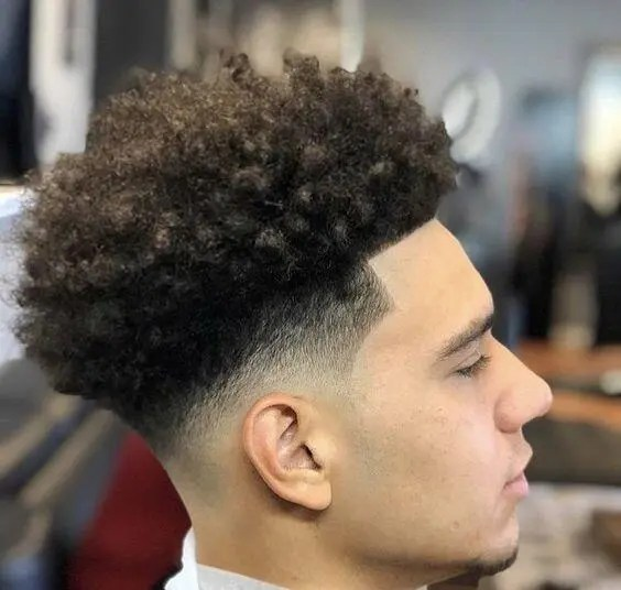homme noir metis idee coupe afro