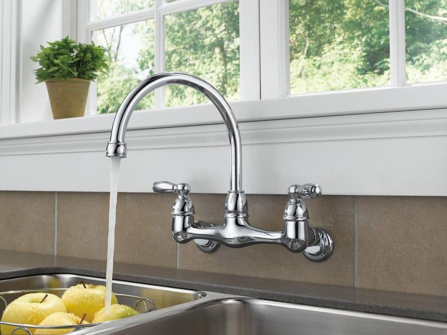 peerless 2 handle kitchen faucet