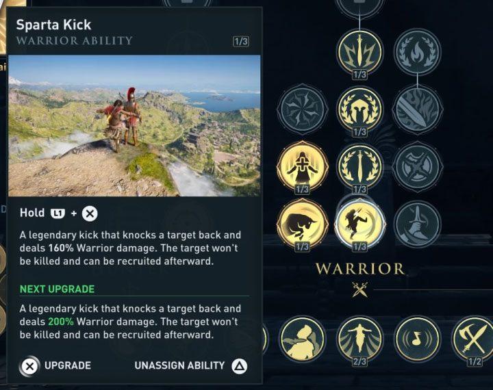 Основная цель обновления копья Леонидаса - модернизировать вашего главного героя - как обновить копье Леонидаса в Assassins Creed Odyssey? - FAQ - Руководство по Одиссею