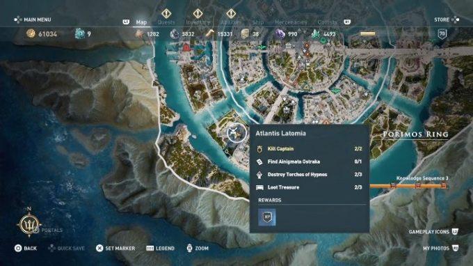Judgment Of Atlantis Ainigmata Ostraka S In Aco Fate Of Atlantis Assassin S Creed Odyssey Guide Gamepressure Com