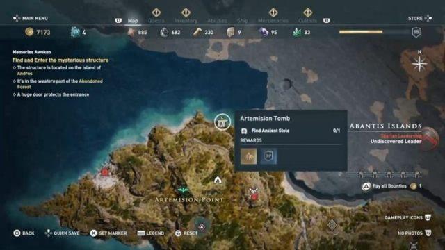 Могила: Eubea, северная часть острова - Eubea - Гробницы в Assassins Creed Odyssey Game - Гробницы - Assassins Creed Odyssey Game Guide