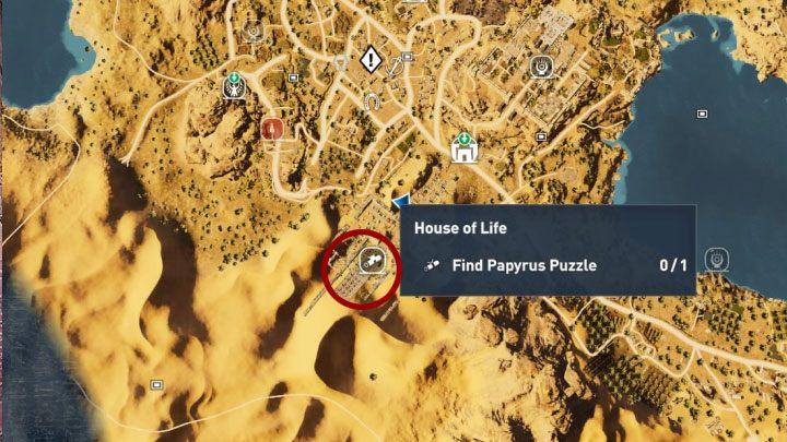 Assassin's Creed Origins guida agli Enigmi dei Papiri, Assassin's Creed Origins guida agli Enigmi dei Papiri
