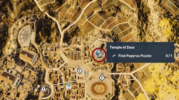 Papyrus Puzzle in Kyrenaika - Assassin's Creed Origins ...