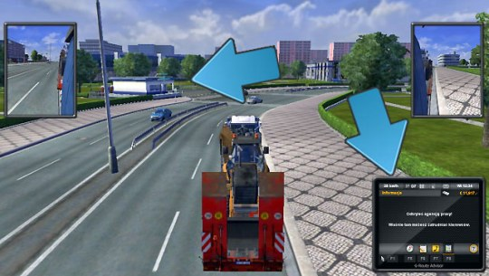 Exploring objects   Map   Euro Truck Simulator 2 Game Guide     When you visit cities you will explore various objects  but to have access  to them
