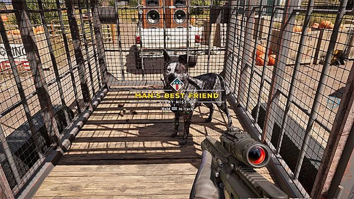 After you reach the farm, you will get a short storyline mission Mans best friend - Specialists in Far Cry 5 (Companions) - Guidebook - Far Cry 5 Game Guide