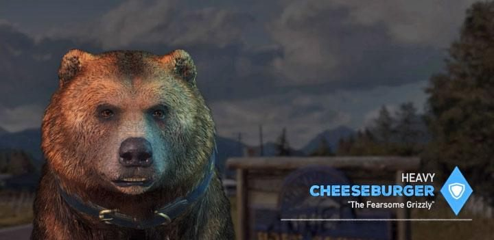 Cheeseburger is the fourth specialist in the game - Specialists in Far Cry 5 (Companions) - Guidebook - Far Cry 5 Game Guide