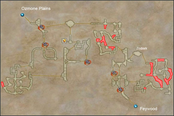 Henne Mines II Additional Locations Final Fantasy XII