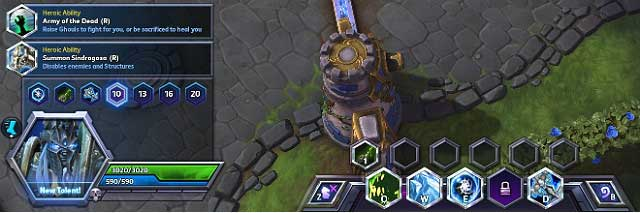 Tratti distintivi Heroes of the Storm