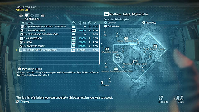 Image result for mgsv missions