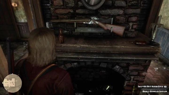 Вы найдете 50 долларов в камине - Усадьбы - Карты сокровищ в Red Dead Redemption 2 - Карта сокровищ - Red Dead Redemption 2 Guide