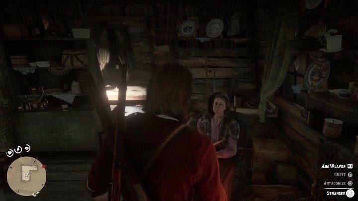 Вы найдете там более старую женщину, она не будет нападать на вас - Усадьба Stashes - Карты сокровищ в Red Dead Redemption 2 - Карта сокровищ - Red Dead Redemption 2 Guide