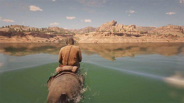 Встаньте на гору и войдите в реку - Как добраться до Мексики в RDR2?  - FAQ - Red Dead Redemption 2 Guide