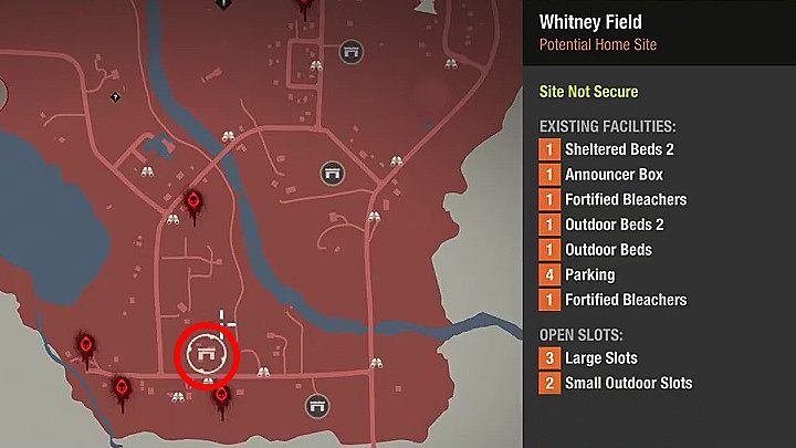Meagher Valley   Bases   State of Decay 2   State of Decay 2 Game     Probably the biggest place to set up a base in Meagher Valley is Whitney  Field