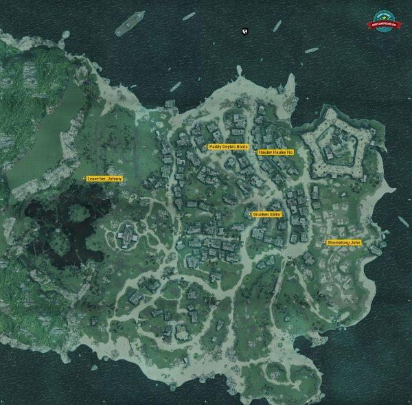 Shanties | Nassau - collectibles - Assassin's Creed IV ...