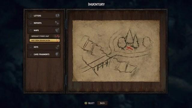 Расположение карты сокровищ 3 обозначено синим номером 3 на карте Ривии - Скрытые сокровища сундуков в Ривии |  Thronebreaker The Witcher Tales - Карты скрытых сокровищ - Тронно-разбойник The Witcher Tales Guide