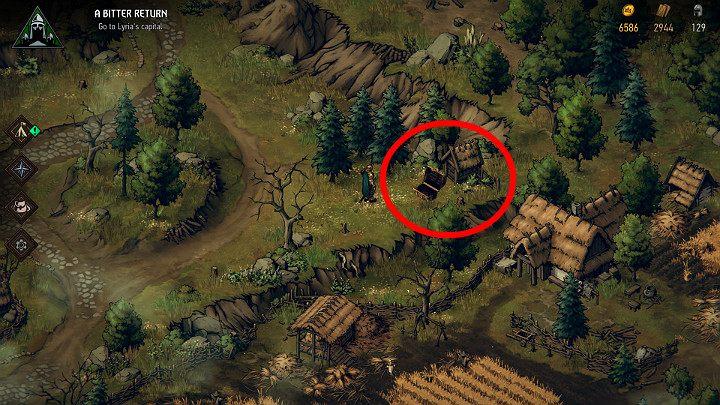 Сокровища нет - Скрытые сокровища сундуки в Лирии | Thronebreaker The Witcher Tales - Карты скрытых сокровищ - Тронно-разбойник The Witcher Tales Guide