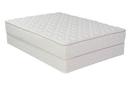 A Mattress With Built In Box Spring On The Bottom
