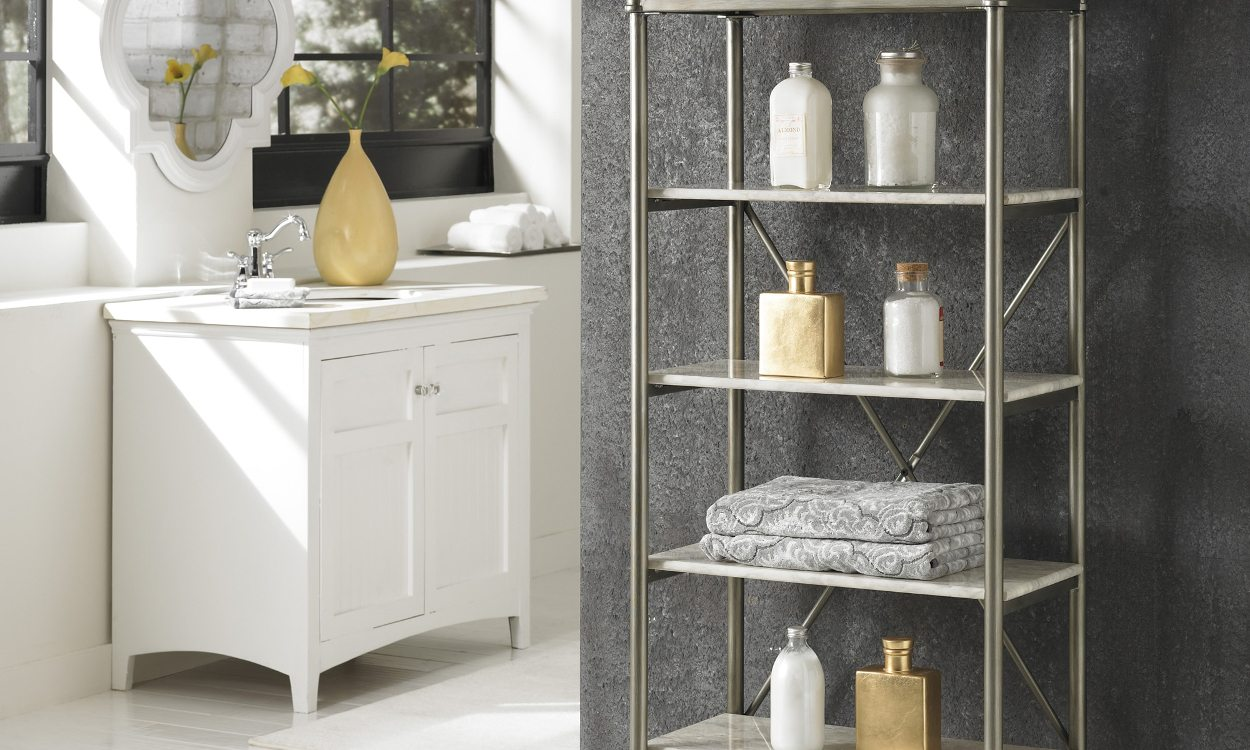 top 10 stylish bathroom storage ideas - overstock