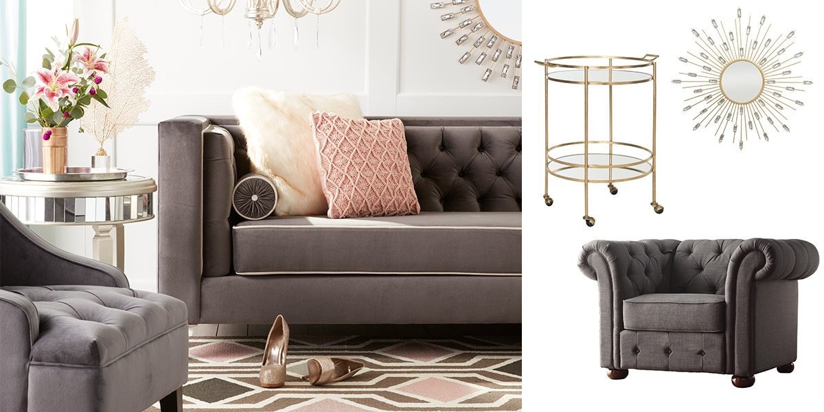 Check out the best in living room furniture with articles like how to tighten the arm on a reclining sofa, how to repair leaning recliners, & more! Dazzling Glam Decorating Ideas for Your Home | Overstock.com