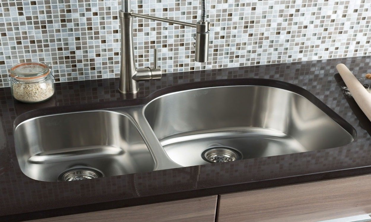 styles of kitchen sinks double bowl stainless steel sink