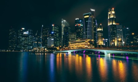 Singapore Night Photo