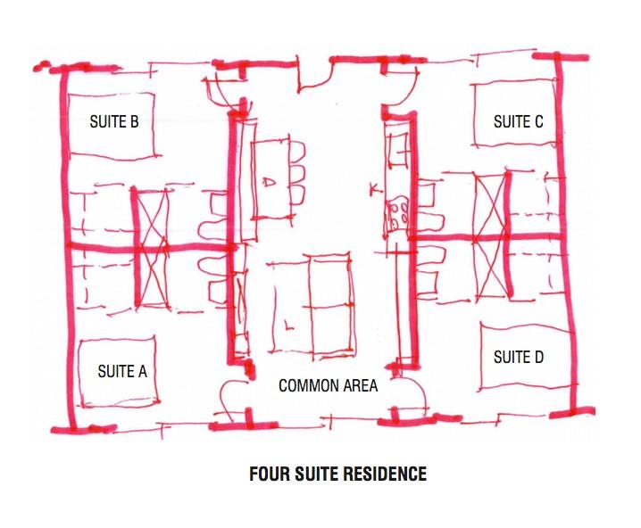 NOLA Floor plan co-living