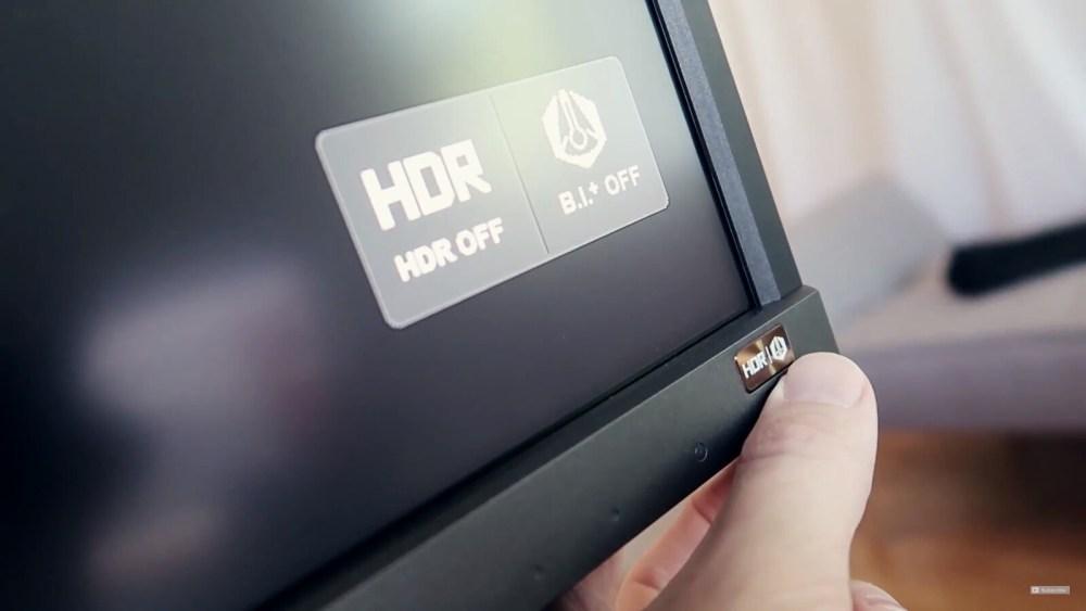 HDR BI Plus Button