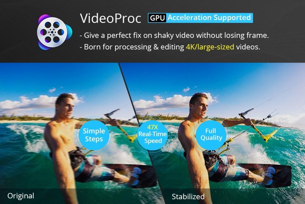 VideoProc GPU 4K GoPro
