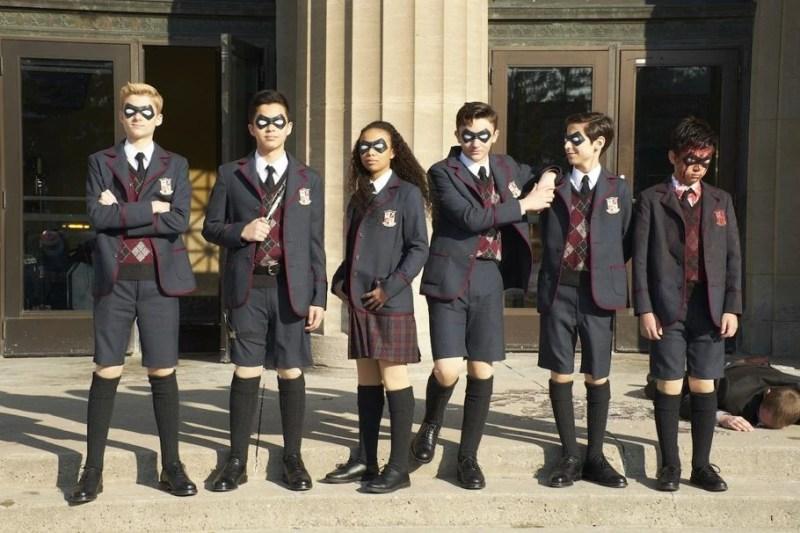Netflix show The Umbrella Academy