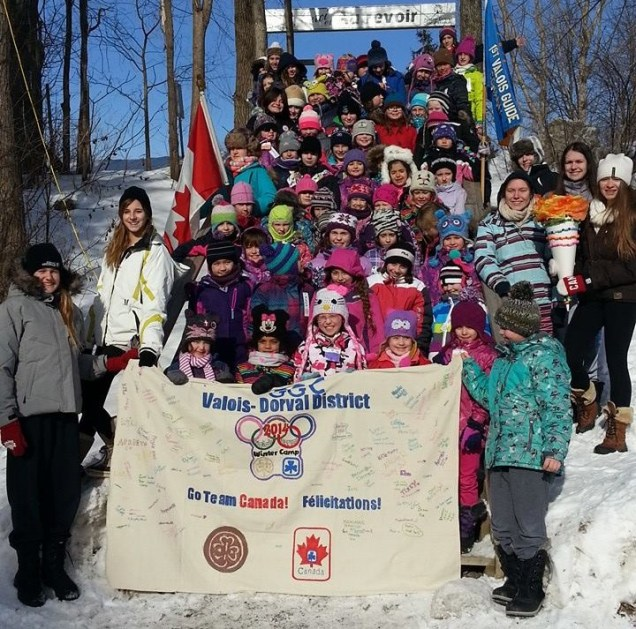 Valois-Dorval-winter-camp-olympic-banner