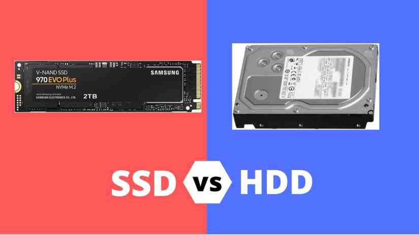 What is the difference between SSD and HDD