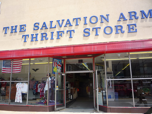 Shopping Thrift Stores And Charity Stores For Used