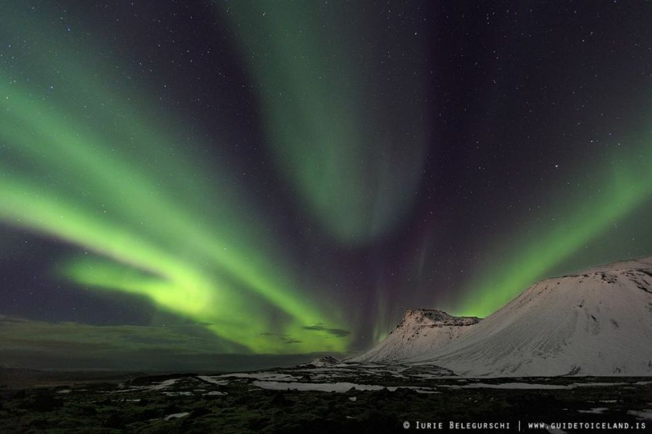 Best Chance Seeing Northern Lights Iceland