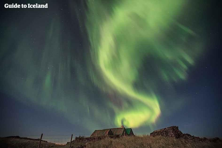 Northern Lights Iceland April