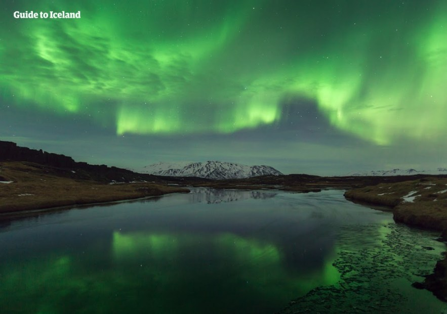 Best Place See Northern Lights Iceland February