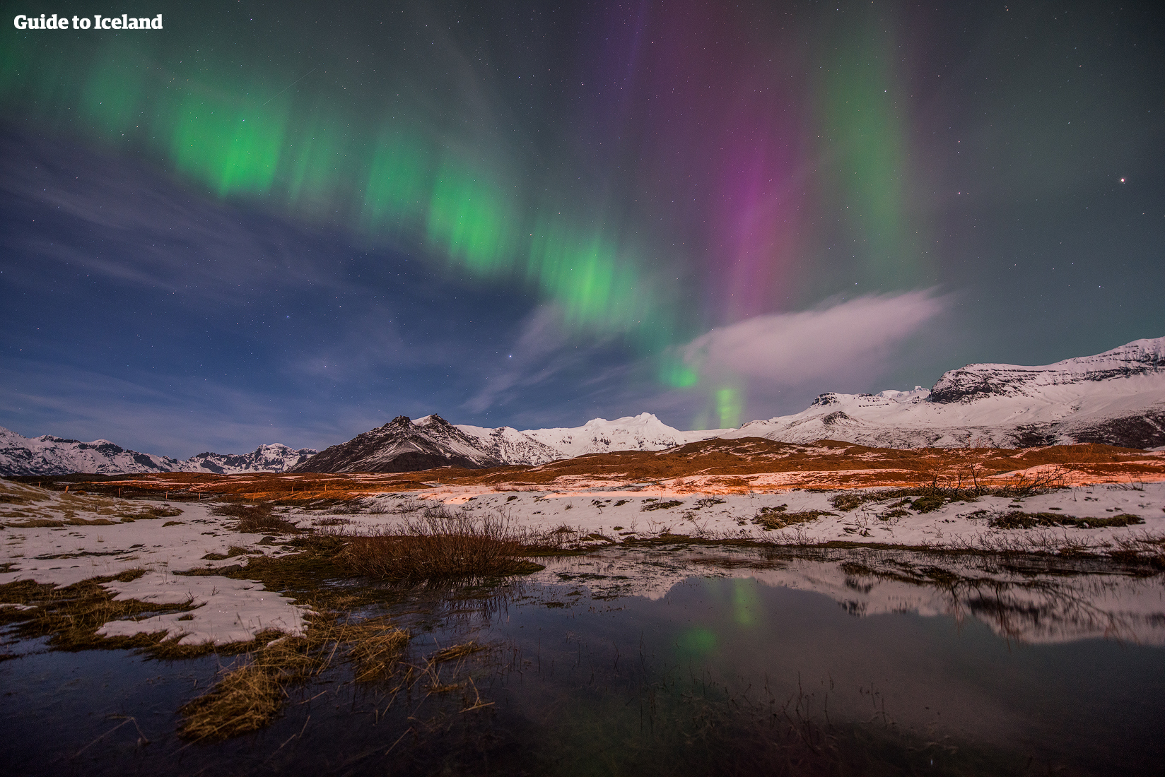 Northern Lights And Blue Lagoon Package