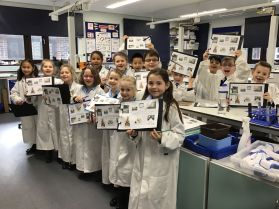 22.02.19. Young scientists made great use of the senior school's laboratories during Learning Power Week