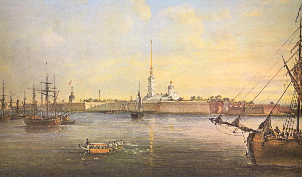 Peter and Paul fortress. Ancient times
