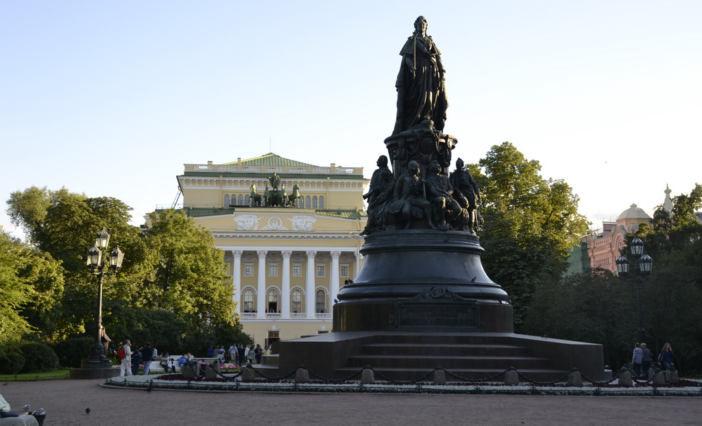 Monument of Catherine the Great