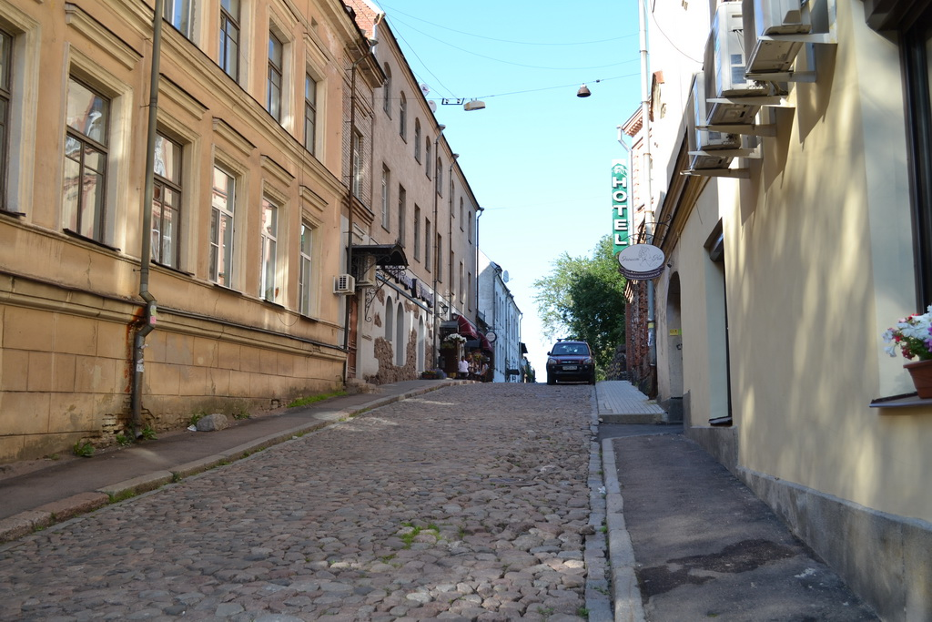 Old streets of Vyborg
