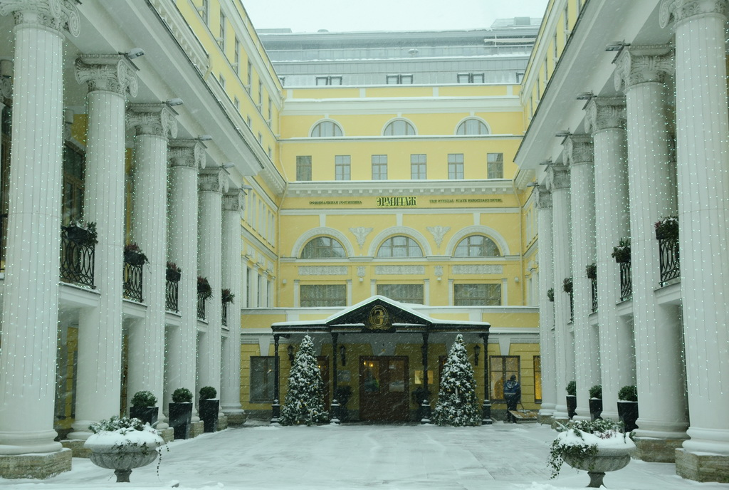 The Hotel Hermitage