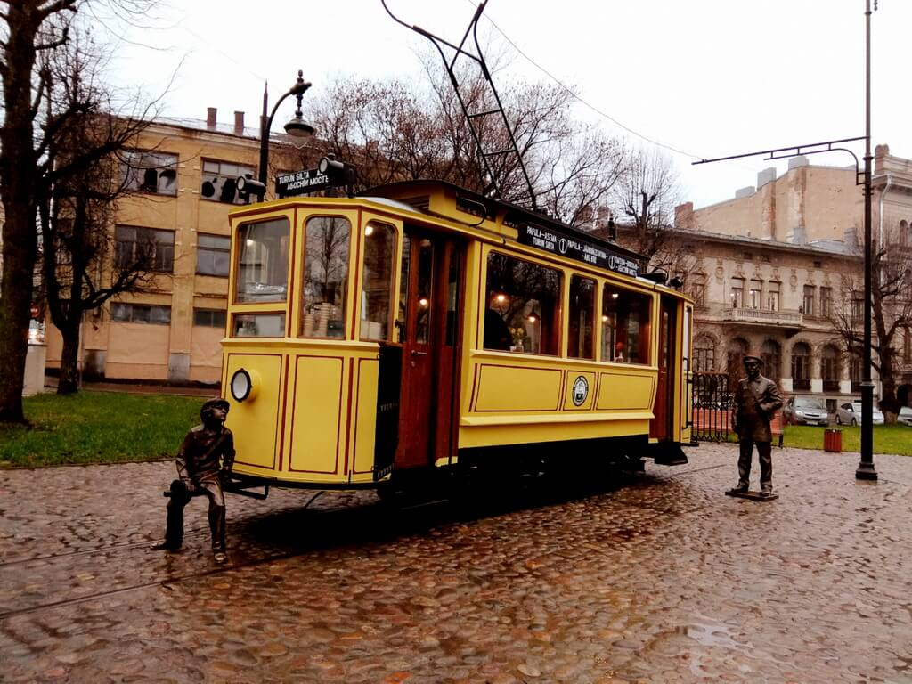Vyborg tram-cafe
