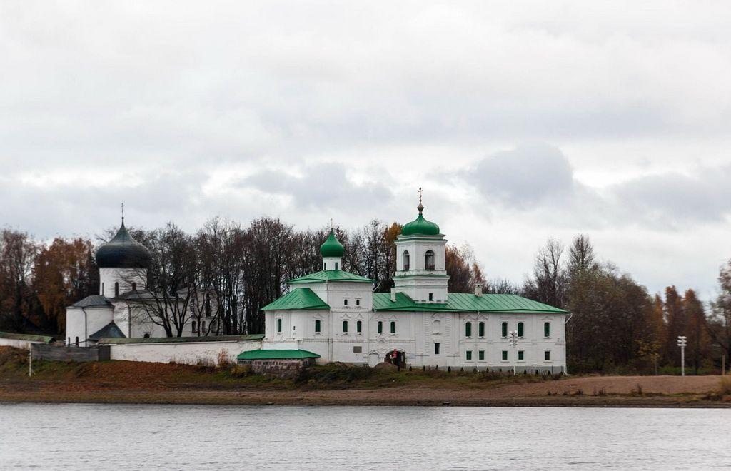 Pskov`s monastery