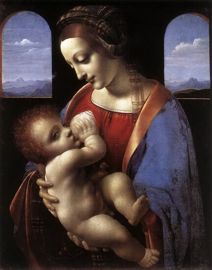 The Madonna Litta