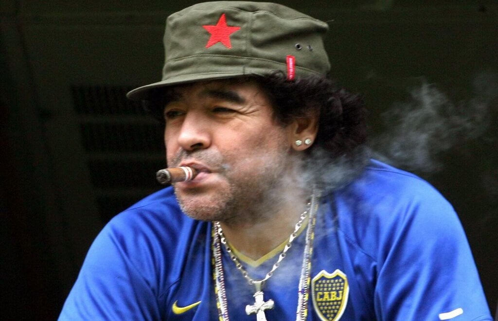Diego Maradona Caught In Sexual Scandal In St. Petersburg
